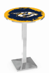 Nashville Predators L217 Chrome Pub Table