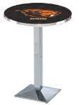 Oregon State Beavers L217 Chrome Pub Table