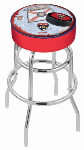 Florida Bar Stool w/ Panthers Logo Swivel Seat - L7C1-D2