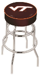 Virginia Tech Bar Stool w/ Hokies Logo Swivel Seat - L7C1