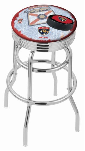 Florida Bar Stool w/ Panthers Logo Swivel Seat - L7C3C-D2