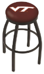 Virginia Tech Bar Stool w/ Hokies Logo Swivel Seat - L8B2B