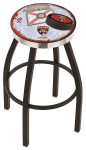Florida Bar Stool w/ Panthers Logo Swivel Seat - L8B2C-D2