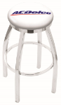 ACDelco Bar Stool w/ Automotive Logo Swivel Seat - L8C2C