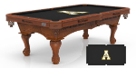 Appalachian State Pool Table w/ Mountaineers Logo - Engraved Decor