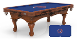 Boise State Pool Table w/ Broncos Logo - Engraved Decor