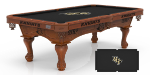 Central Florida Pool Table w/ Golden Knights Logo - Engraved Decor