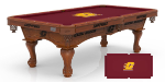 Central Michigan Pool Table w/ Chippewas Logo - Engraved Decor