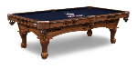 Connecticut Pool Table w/ Huskies Logo - Engraved Decor