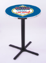 Welcome to Las Vegas Pub Table w/ Game Room Logo - L211