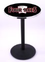 Four Aces Pub Table w/ Gaming Logo & Round Base - L214