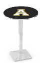 Appalachian State Mountaineers L217 Chrome Pub Table