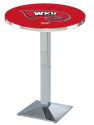 Western Kentucky Hilltoppers L217 Chrome Pub Table