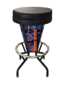 "Boise State Bar Stool w/ Broncos Logo Swivel Seat - 30"" Lighted"