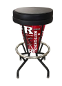 "Rutgers Bar Stool w/ Scarlet Knights Logo Swivel Seat - 30"" Lighted"