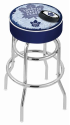 Toronto Bar Stool w/ Maple Leafs Logo Swivel Seat - L7C1-D2
