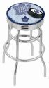 Toronto Bar Stool w/ Maple Leafs Logo Swivel Seat - L7C3C-D2