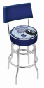 Toronto Bar Stool w/ Maple Leafs Logo Swivel Seat - L7C4-D2
