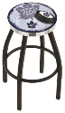 Toronto Bar Stool w/ Maple Leafs Logo Swivel Seat - L8B2C-D2
