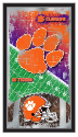 Clemson Tigers Football Logo Mirror