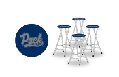 Nevada Wolf Pack Bar Stools (Set of 4)