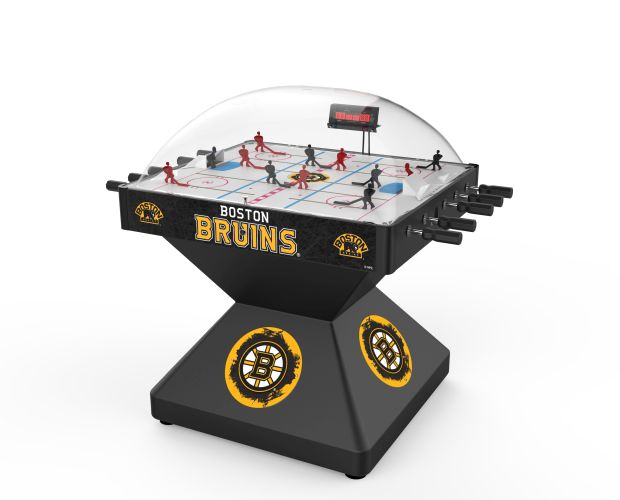 Boston Bruins Deluxe Dome Bubble Hockey Table Bubble