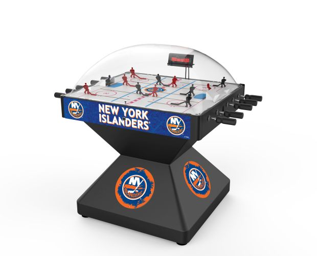 New York Islanders Deluxe Dome Bubble Hockey Table Hockey Tables