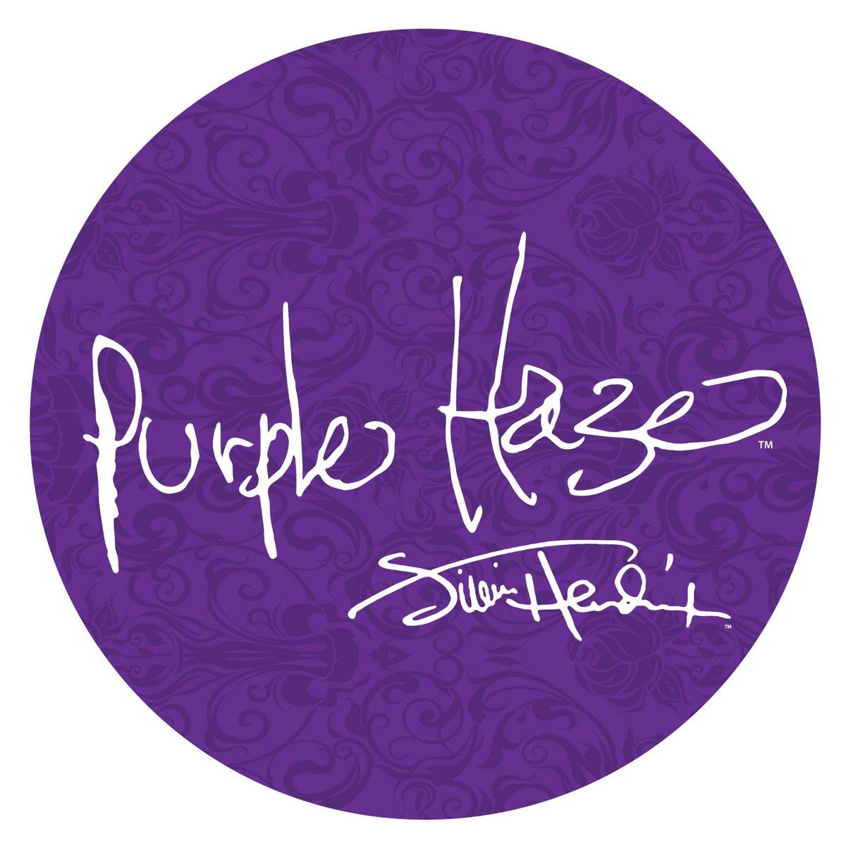 Jimi Hendrix Bar Stool W Purple Haze Logo Swivel Seat L7c1