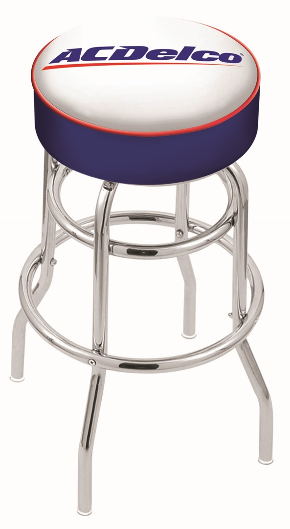 Acdelco Bar Stool W Automotive Logo Swivel Seat L7c1