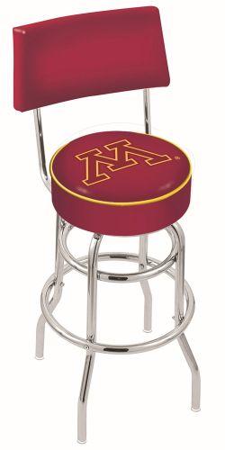 Minnesota Bar Stool W Golden Gophers Logo Swivel Seat L7c4